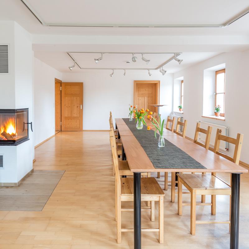 Kaminzimmer Seminar Hörmannhof